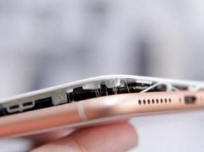 Apple расследует, почему новые iPhone 8 Plus вздуваются