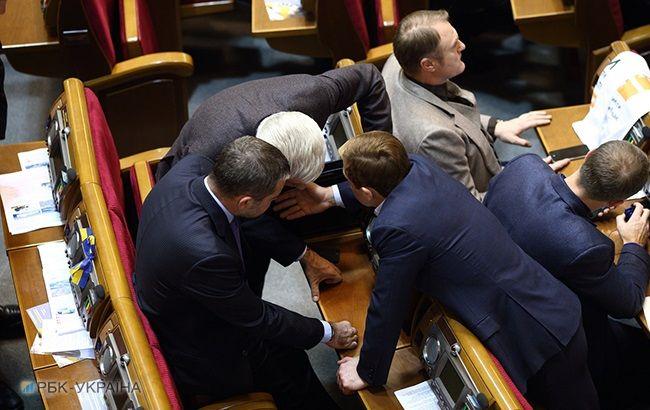 Рада начнет рассмотрение закона о деоккупации Донбасса в январе, — Парубий