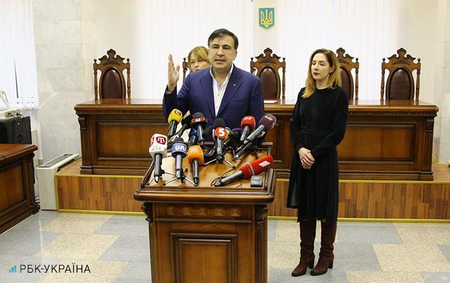 Саакашвили заявил, что Луценко поручил собирать на него компромат