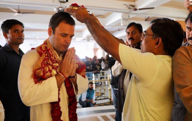 Внук Индиры Ганди возглавил старейшую партию Индии