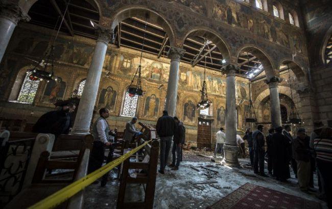 В Египте неизвестный обстрелял церковь