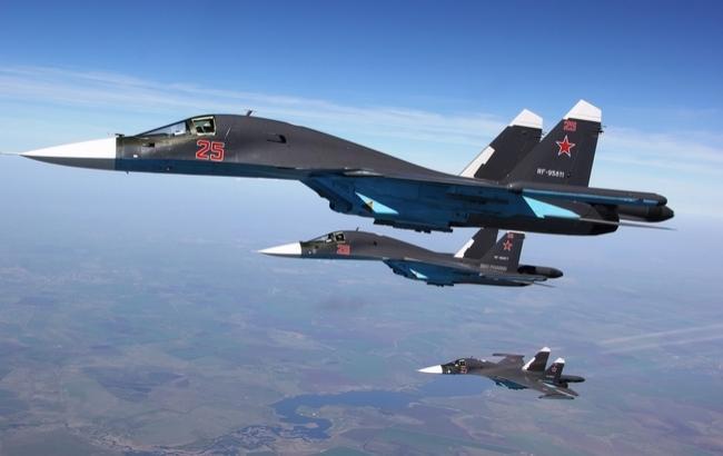 ВВС США обнародовали видео перехвата истребителями США российского Су-30