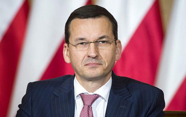 Польша помагает снизить напряжение на востоке ЕС, принимая беженцев из Украины, — Моравецкий