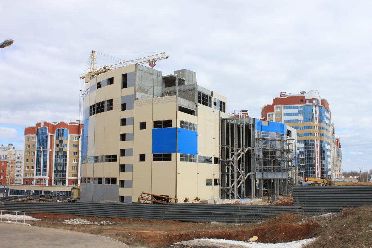 Строительство торговых комплексов