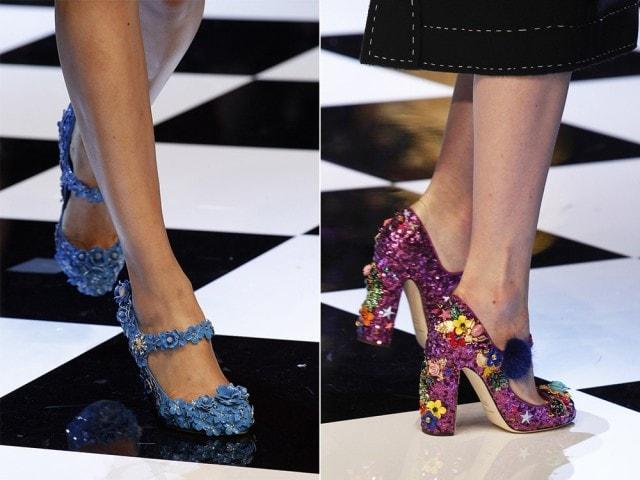 Самая красивая обувь для встречи Нового Года