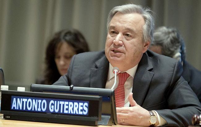 Порошенко провел встречу с Генсеком ООН