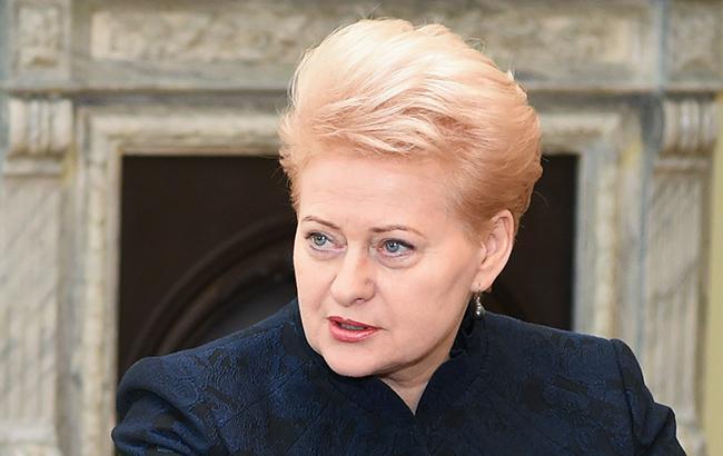 Грибаускайте: российские «Искандеры» под Калининградом угрожают половине Европы