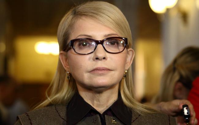 Тимошенко в США встретилась с американскими дипломатами