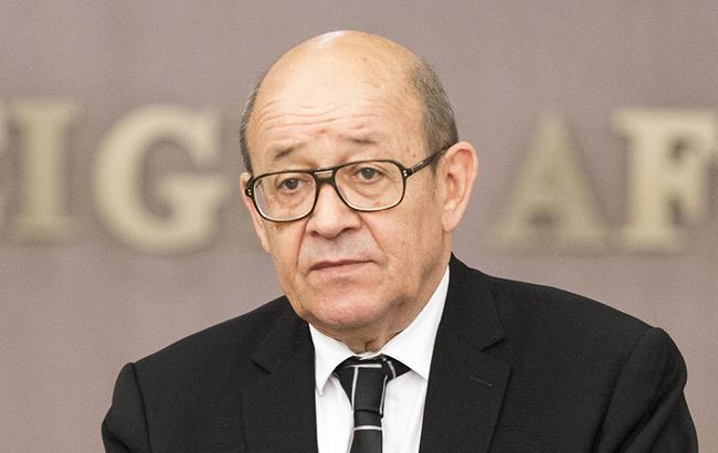 Глава МИД Дриан заявил, что Франция будет партнером Украины в преодолении актуальных вызовов