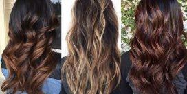 Стильное окрашивание волос
