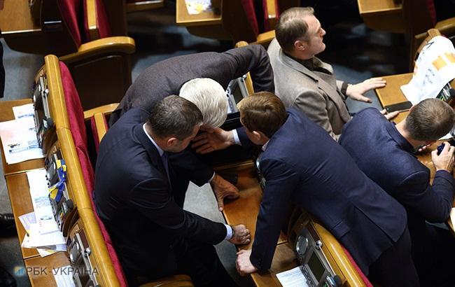 Рада одобрила повестку дня сессии после консультации фракций