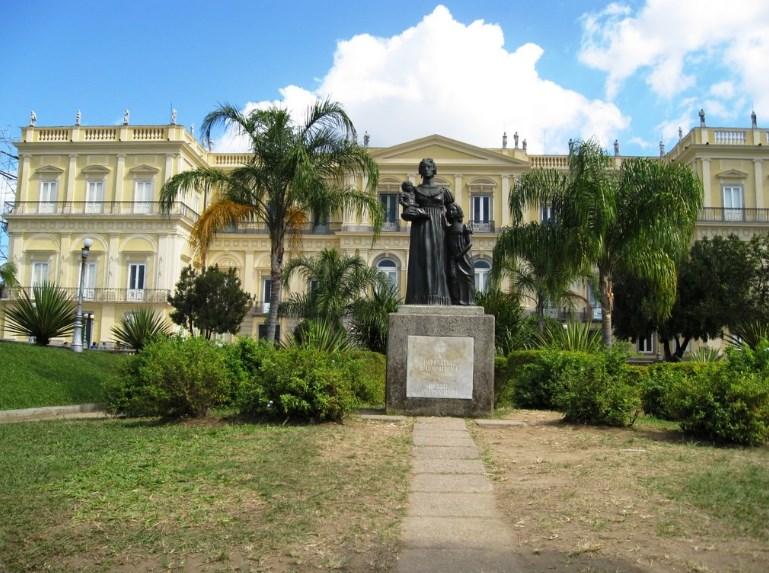 Сгоревший в Бразилии музей можно посетить виртуально