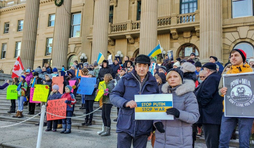 Украинцы в Канаде потребовали освободить узников Кремля