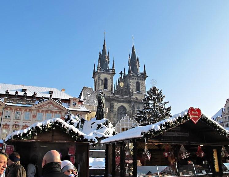 Новый год в Чехии – что купить и как развлекаться на рождественских ярмарках в Праге