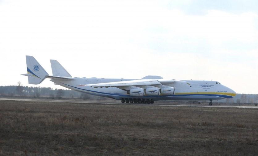 Сегодня украинскому самолету-гиганту «Мрия» – 30 лет