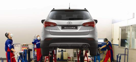 Плановое техническое обслуживание Hyundai в Харькове