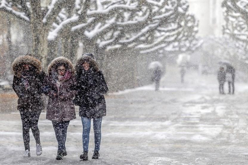 В Украине два дня будут идти мокрый снег и дожди