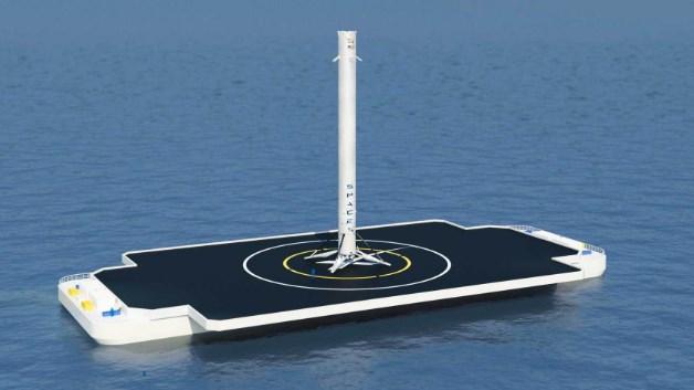 Как испытывали первую «летающую доску». Компания SpaceX впервые посадила ракету на воду