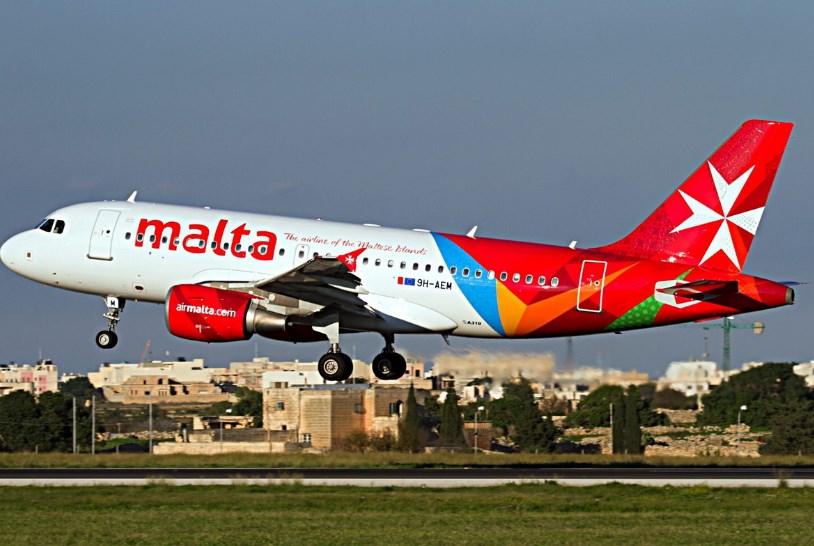 Авиакомпания Air Malta удвоит количество рейсов в Украину