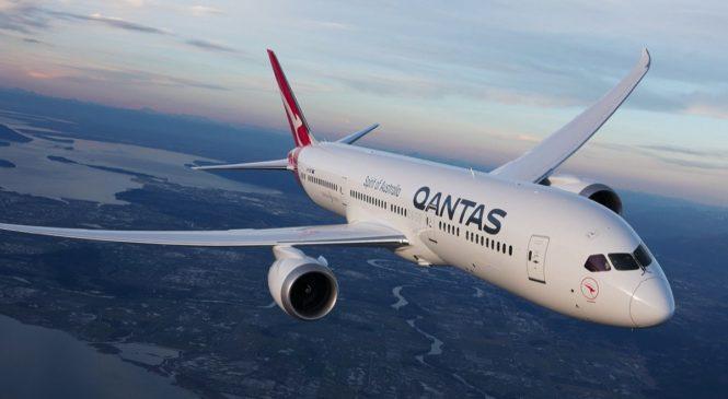 Qantas установила рекорд по самому длинному беспосадочному рейсу в мире