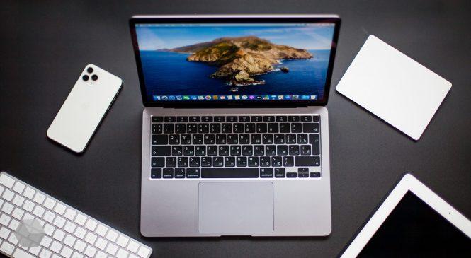 Краткий обзор ноутбука MacBook Air 2020