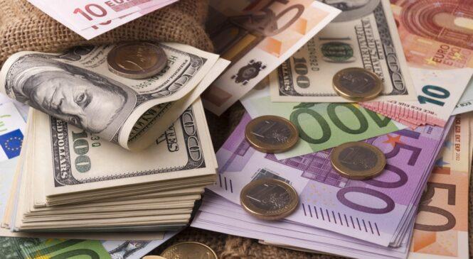 Валюта дорожает: официальный курс доллара и евро